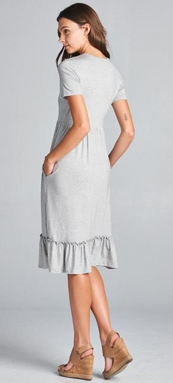 Jules Dress (Gray)