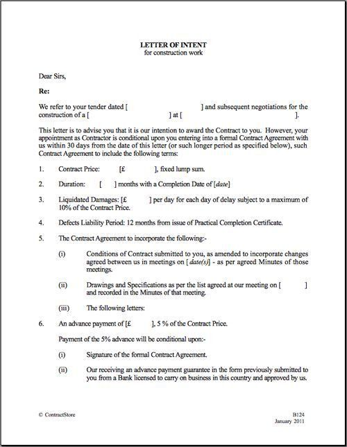 Letter Of Intent Business Partnership 10 Business Letter Of - real estate partnership agreement