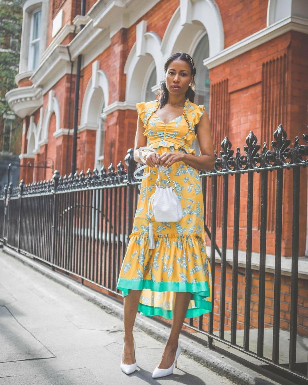 Dress, 554£ at farfetch.com – Wheretoget