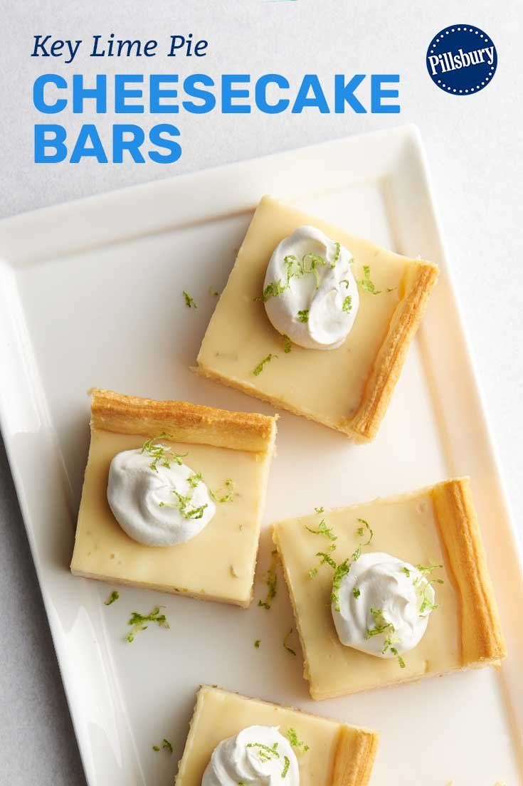 Creamy-yet-tart cheesecake filling set atop Pillsbury pie crust is the perfect dessert when you're craving the flavors of summer—no matter what the season is!