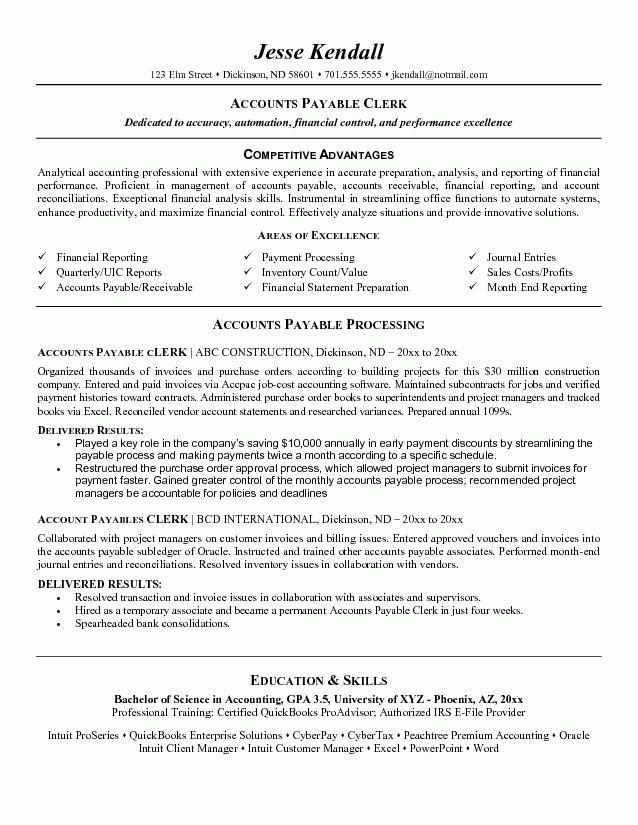 Office Clerk Resume Example - Examples of Resumes
