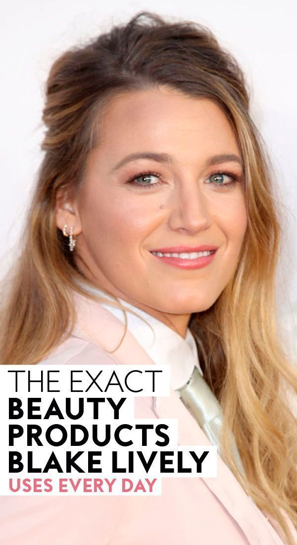 The exact #beautyproducts #BlakeLively uses everyday. #everydaymakeup #beauty #makeupproducts #makeupideas