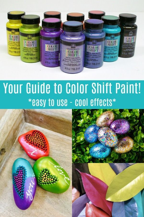 The Ultimate Guide to Color Shift Paint (Plus Projects!) - Mod Podge Rocks