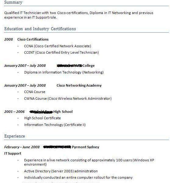 Cisco Network Associate Resume Resume Ccna Noc 15, Entrance Essays