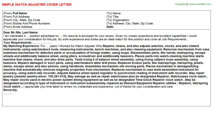 ... Claims Cover Letter Free Insurance Claims Adjuster Cover Letter    Insurance Adjuster Trainee Cover Letter ...