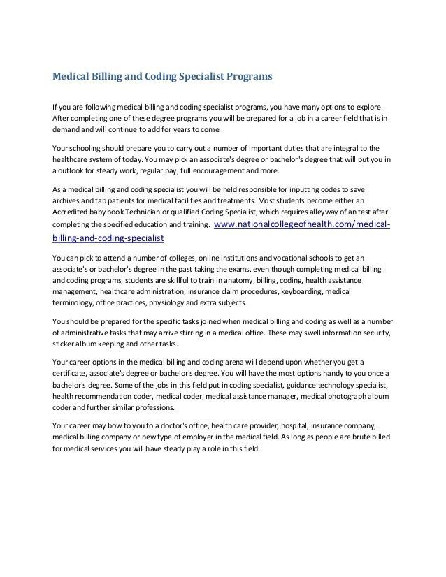 Resume Examples For Medical Billing And Coding - Examples of Resumes - medical coding job description