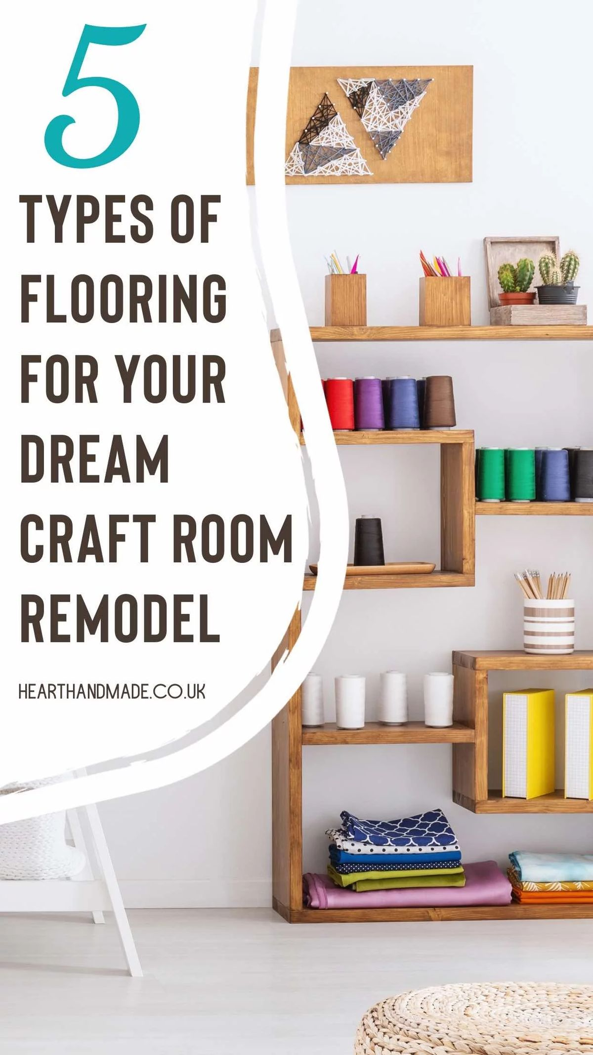 5 Types Of Flooring For Your Dream Craft Room Remodel