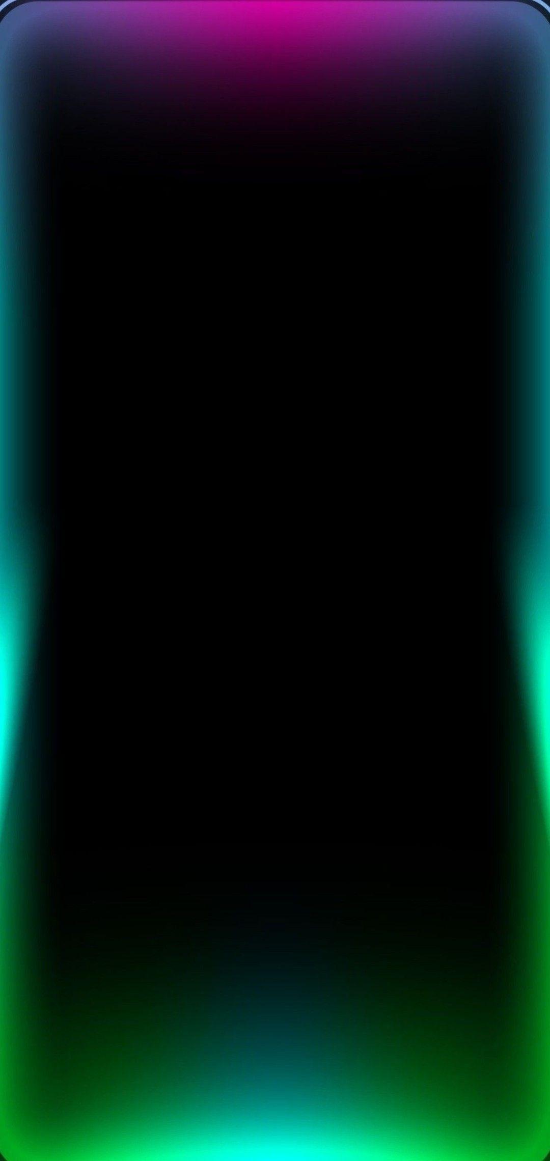 Frame Border Rainbow Light For 1080x2280 Wallpaper Oppo F7