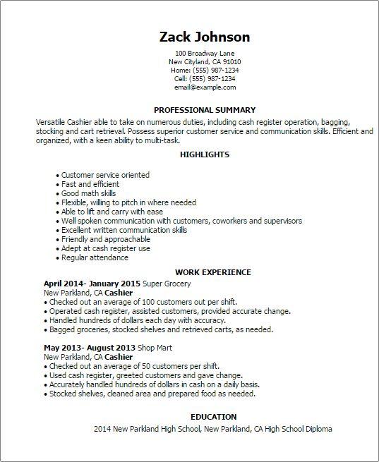 communication skills resume list