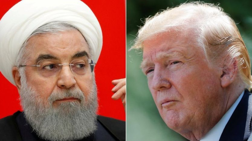 US president says war would be 'end' of Iran as tensions rise – BBC News
