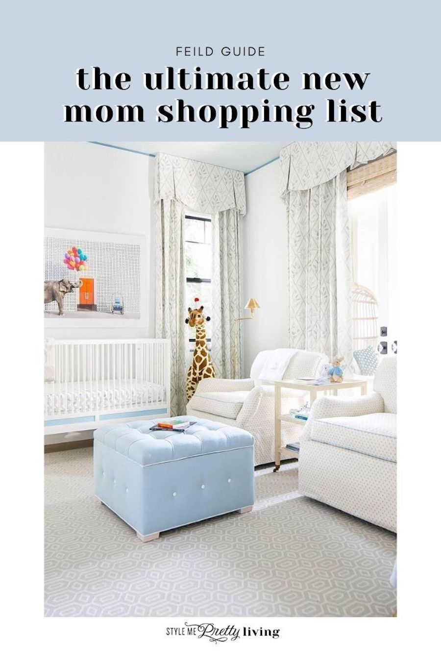 The Ultimate New Mom Shopping List