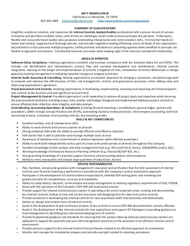 As9100 Compliance Auditor Sample Resume] As9100 Compliance ...