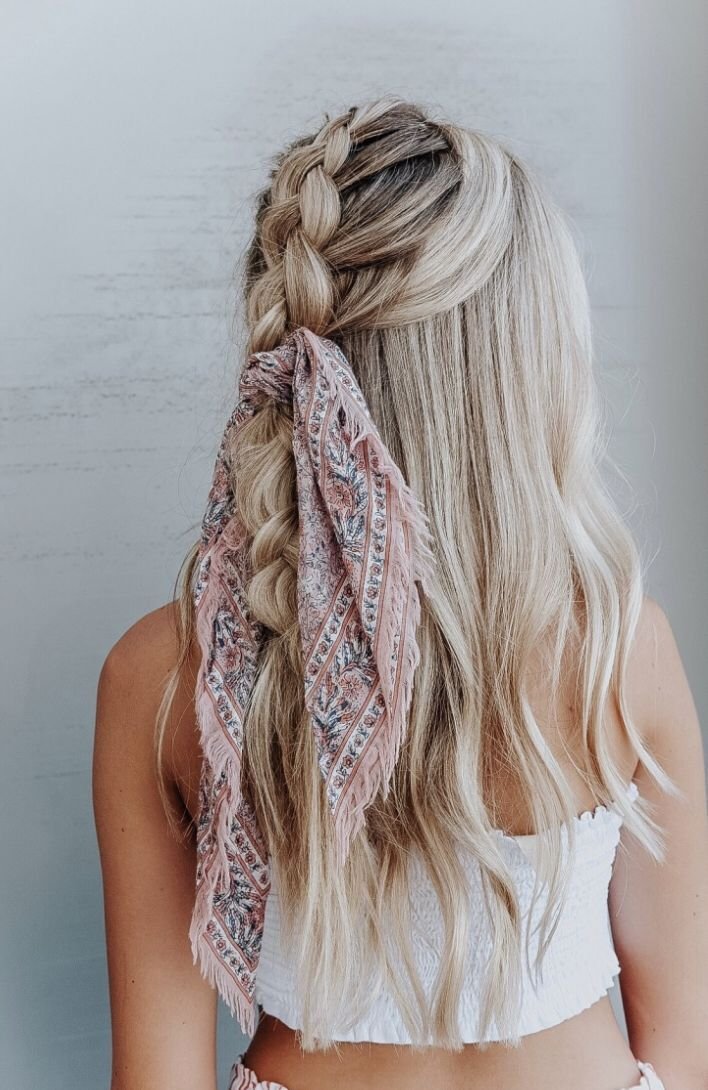 hairstyles tied up