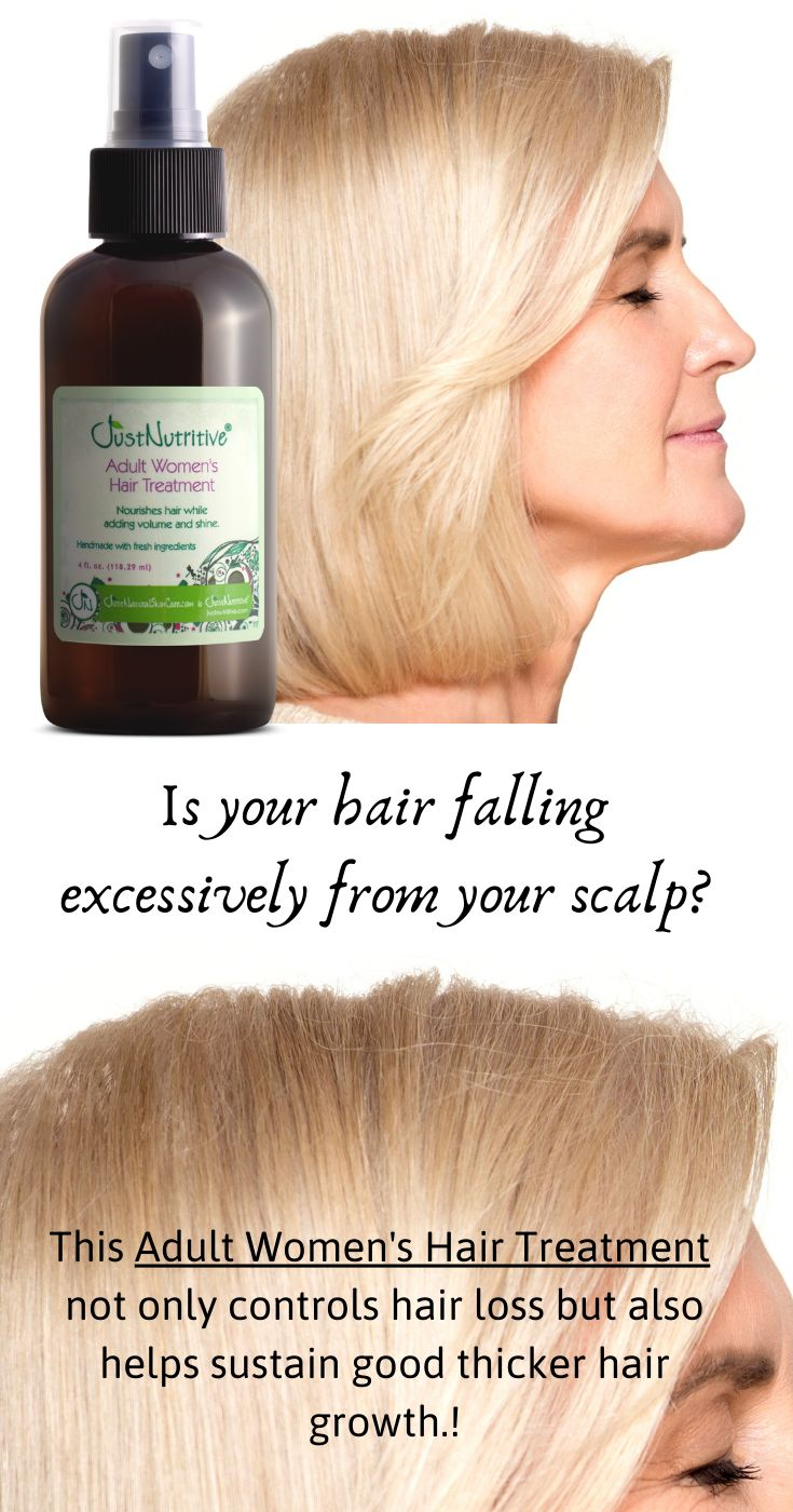 Is your hair falling excessively from your scalp?