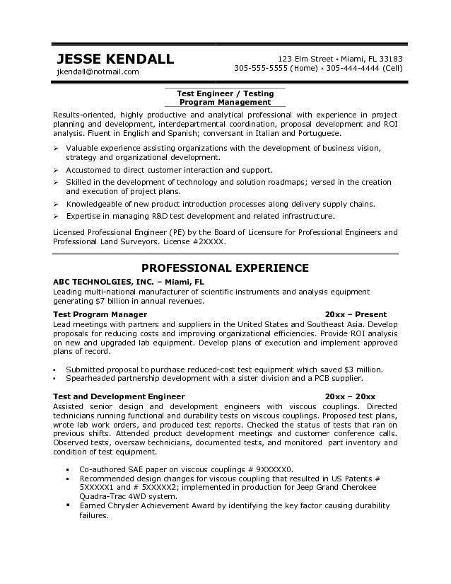 Sample Resume For Qa Tester Entry Level Selenium