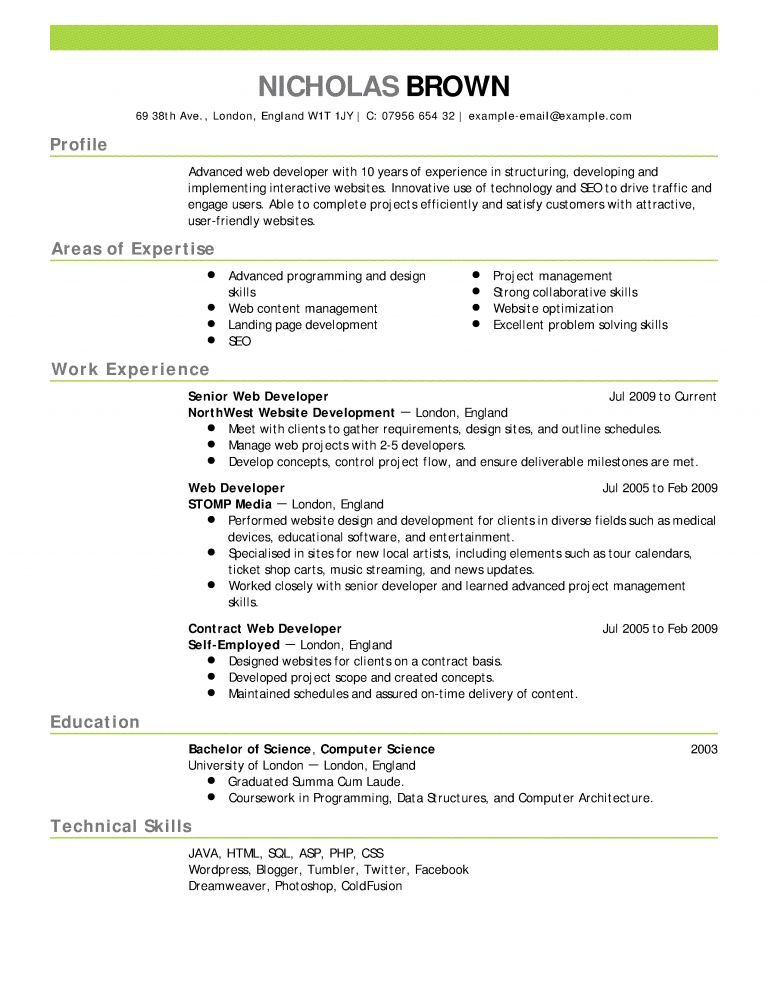 Killer Resume Template | Cvresume.cloud.unispace.io