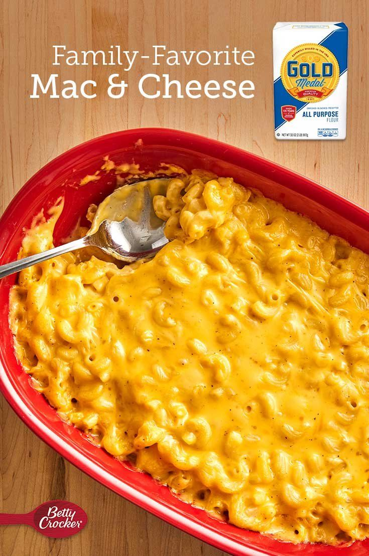 Home-cooked mac & cheese is a staple in any cook's recipe book! Use Gold Medal Flour, cheddar, Worcestershire sauce and brown mustard to give elbow macaroni a decadent taste and texture.
