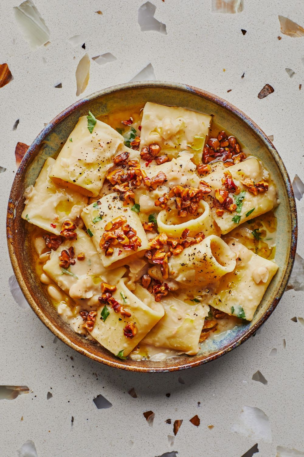// Creamy Vegan Pasta…and 9 Other Ways to Turn a Can of Beans Into Dinner | Bon Appétit