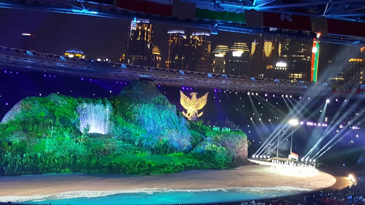 Grand Opening Asian Games 2018...splendid, thrilled, proud