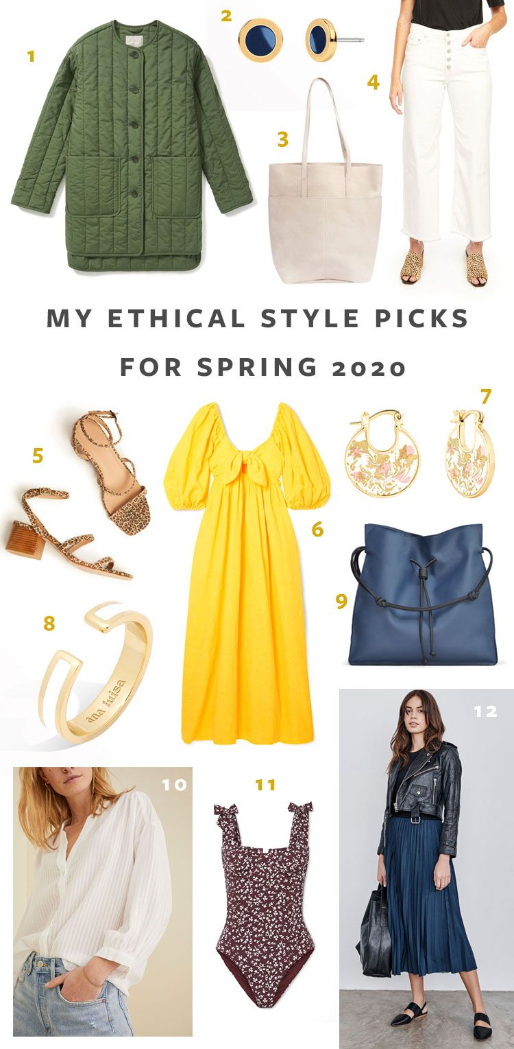 12 Ethical Style Pieces That I'm Eyeing This Spring