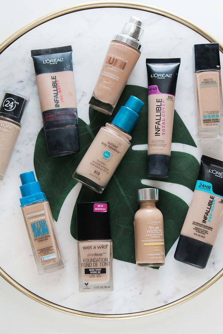 Top 10 Drugstore Foundations You'll Want to Buy by Houston beauty blogger Meg O. on the Go
