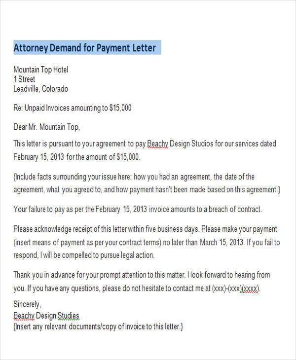Formal Demand For Payment Pre Lawsuit Demand Letter Georgia 3 Day - demand letter sample