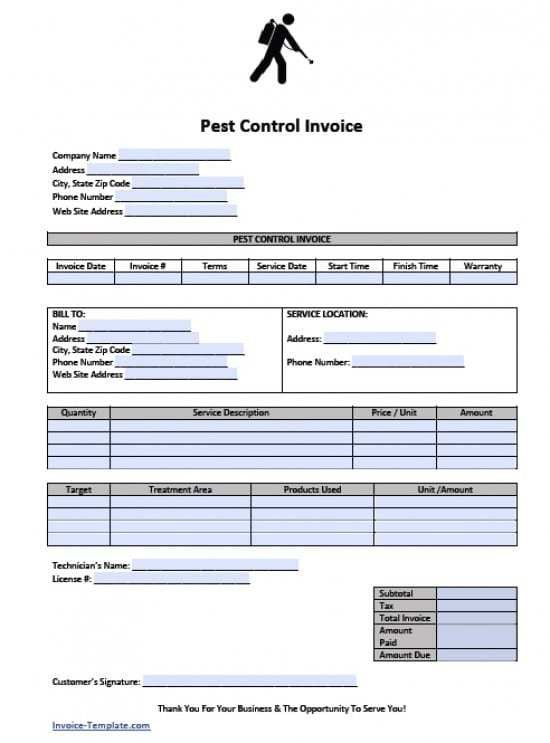 Excel Phone Service Service Invoice Template Excel Invoice - name address and phone number template