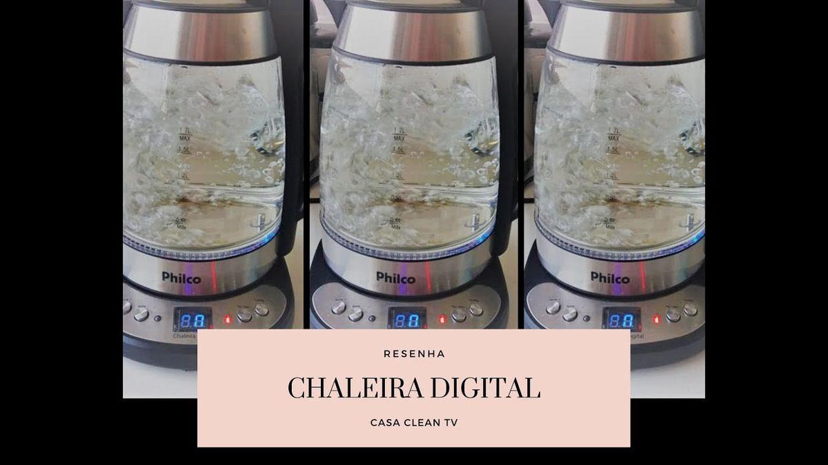 RESENHA: CHALEIRA DIGITAL ELÉTRICA COM JARRA DE VIDRO