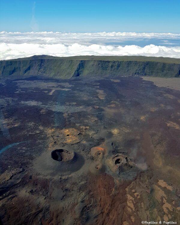 Vol en hélicoptère à la Réunion