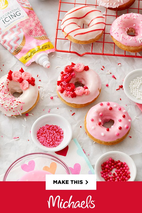 Bake the perfect Valentine's Day sweet! Use candy melts and sprinkles to personalize the perfect treat.