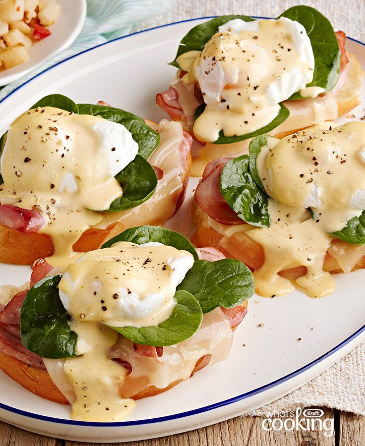 Brunch-Style Eggs Benedict #recipe