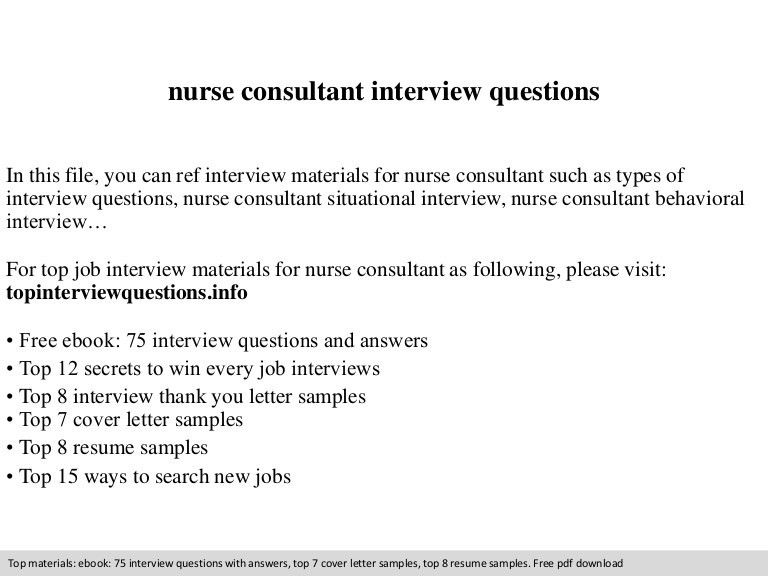 Clinical Nurse Consultant Cover Letter