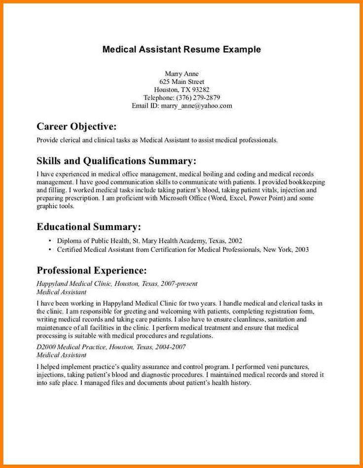 Is Medical Assistant A Good Career Download Receptionist Resume - medical professional resume
