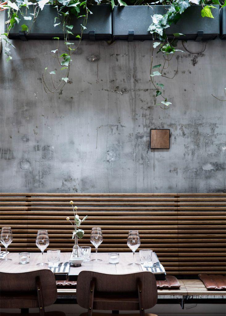 Danish Design Studio Creates an Indoor Garden For a Restaurant //