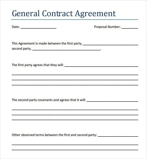Contractor Agreement Template Word Sample Contract Agreement 43 - sample reseller agreement