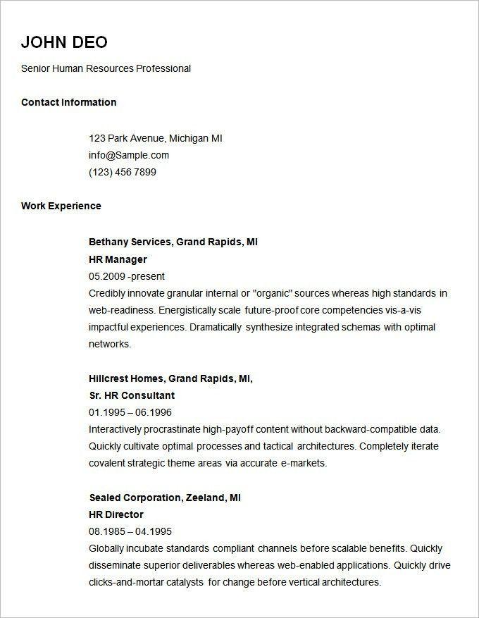 Easy Free Resume Builder 11 Best Free Online Resume Builder Sites - michigan works resume builder