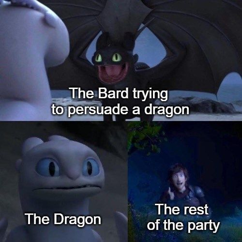 You nerds keep asking for D&D memes, so of course we gotta provide! #DAndD #Gaming #Memes