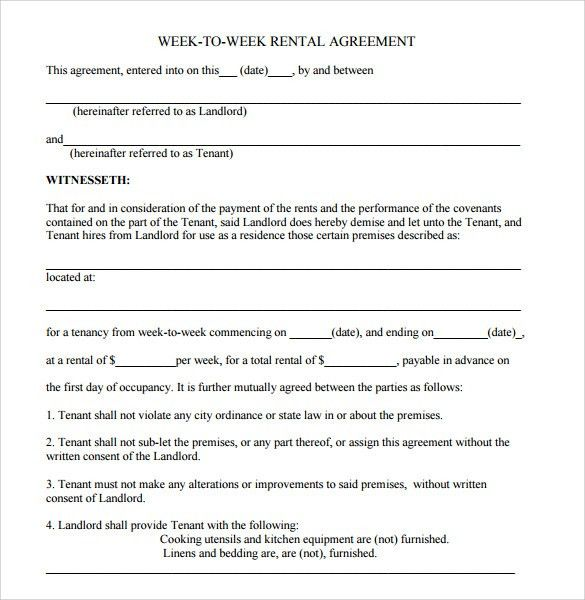 Editable Lease Agreement Template Stunning Editable Mobile Home - blank lease agreement example