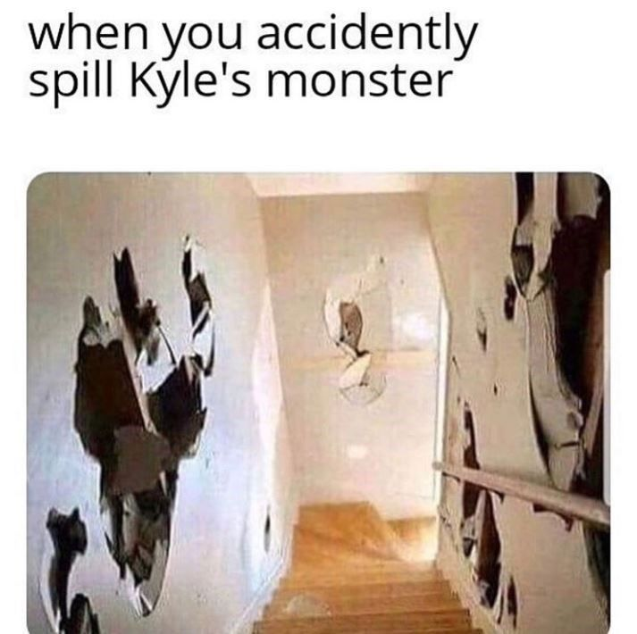 "Why do ""Kyle"" memes literally describe every Kyle in the world so perfectly? #Kyle #Memes #Monster #EnergyDrinks"