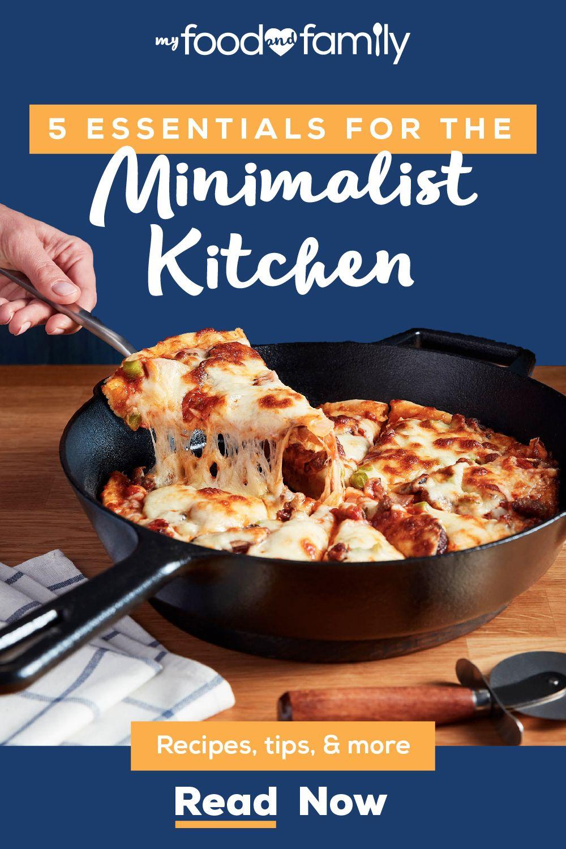 5 Essentials for the Minimalist Kitchen