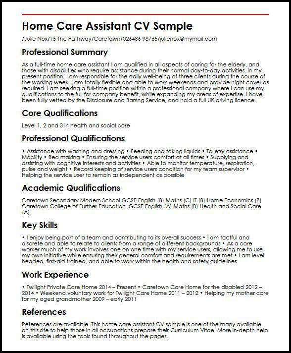 Household Assistant Sample Resume Resume Example Personal Assistant - household assistant sample resume
