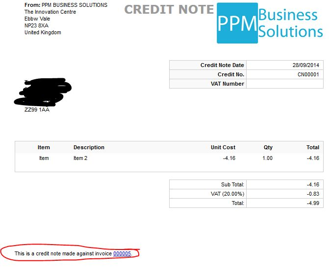 Credit note template 8 free word pdf documents download free - credit note template