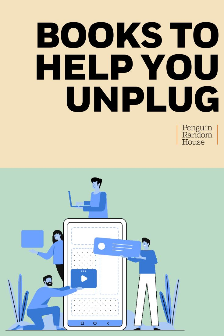 If you're looking to unplug, escape from technology, from social media and the world, we have books to help you relax and reconnect with yourself.
