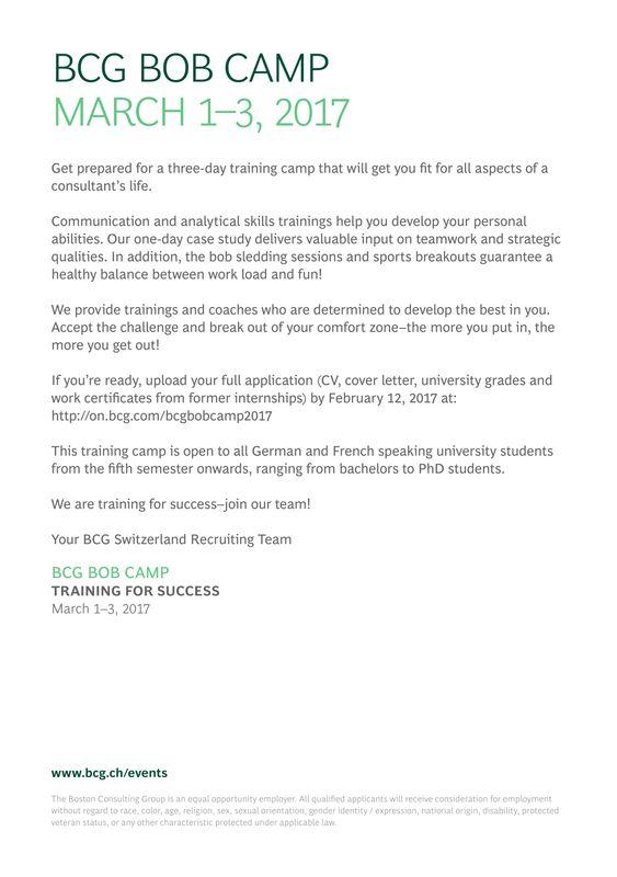 Cover Letter Bcg Internship | Cover Letter