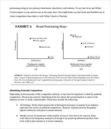 Competitors Analysis Template Competitive Analysis Template 9 - sample competitive analysis 2