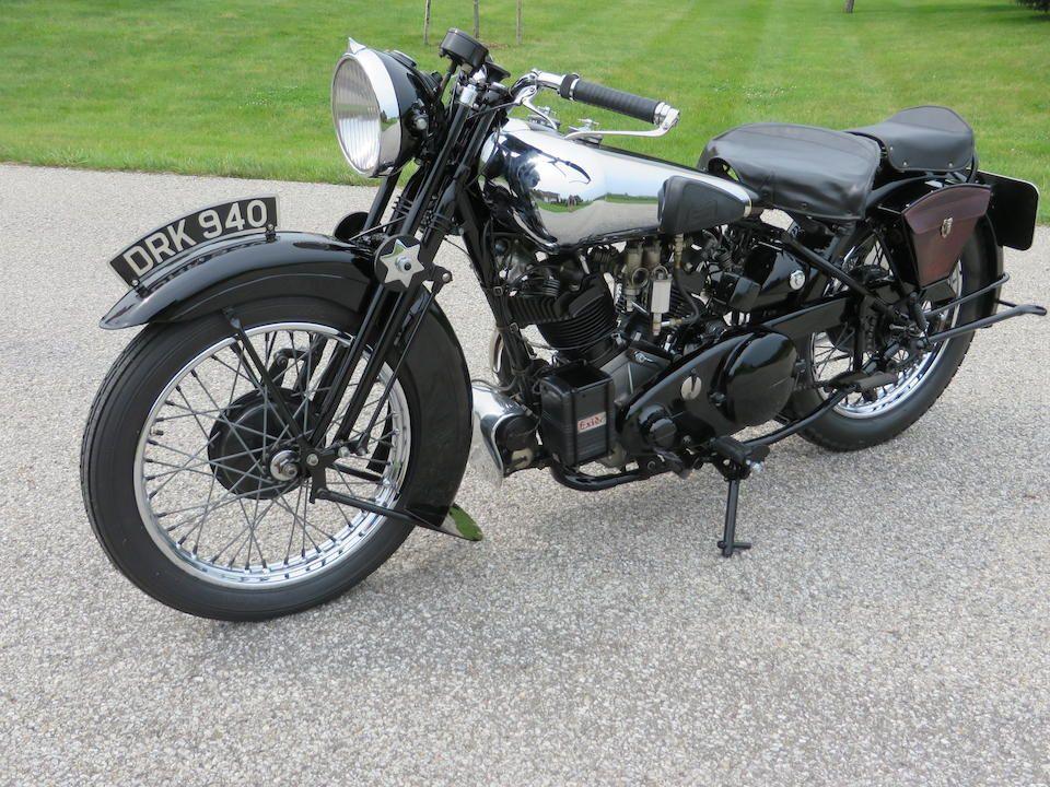 Bonhams : J W Tennant-Eyles restoration,1937 Brough Superior SS100 Frame no. M1/1897 Engine no. BS/X2 1099