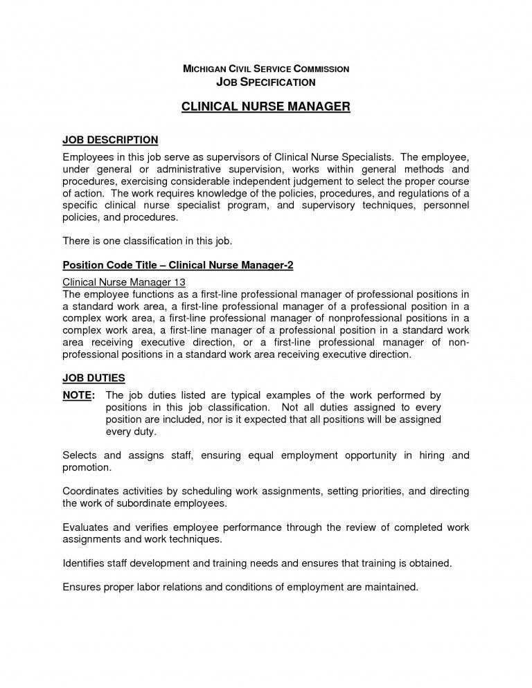 Nursing House Supervisor Job Description Pin By Ririn Nazza On Free