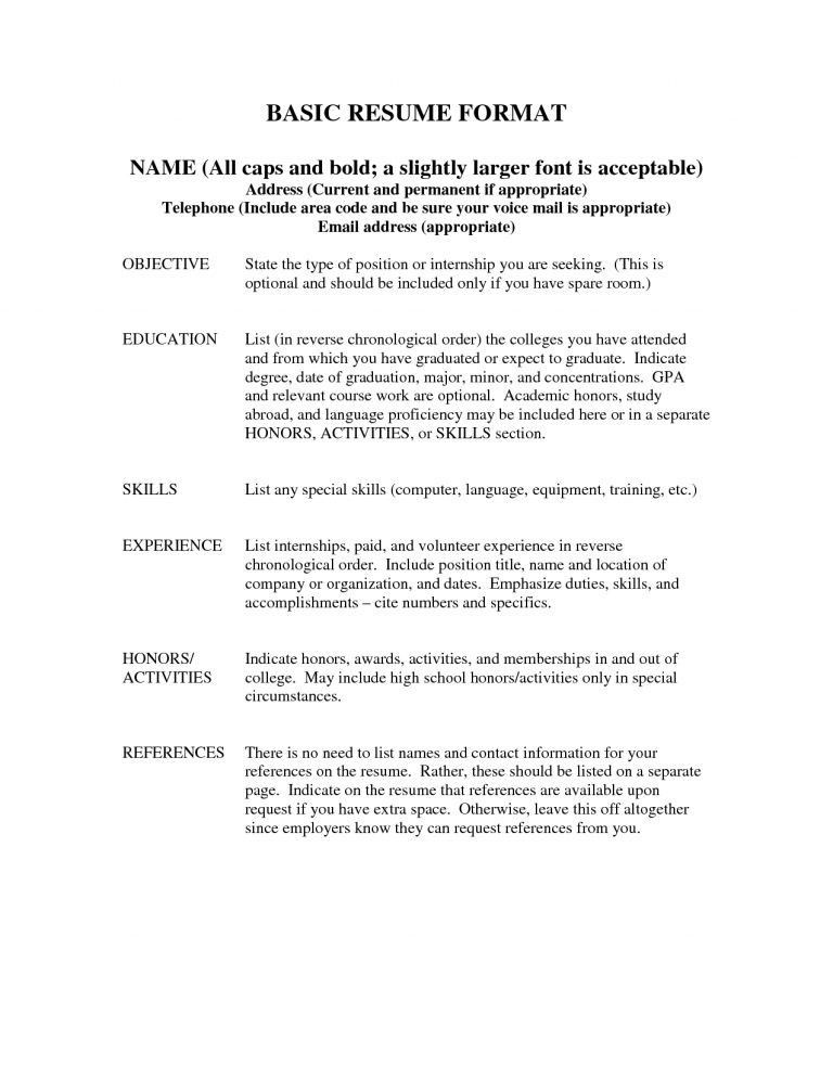 references for a resume