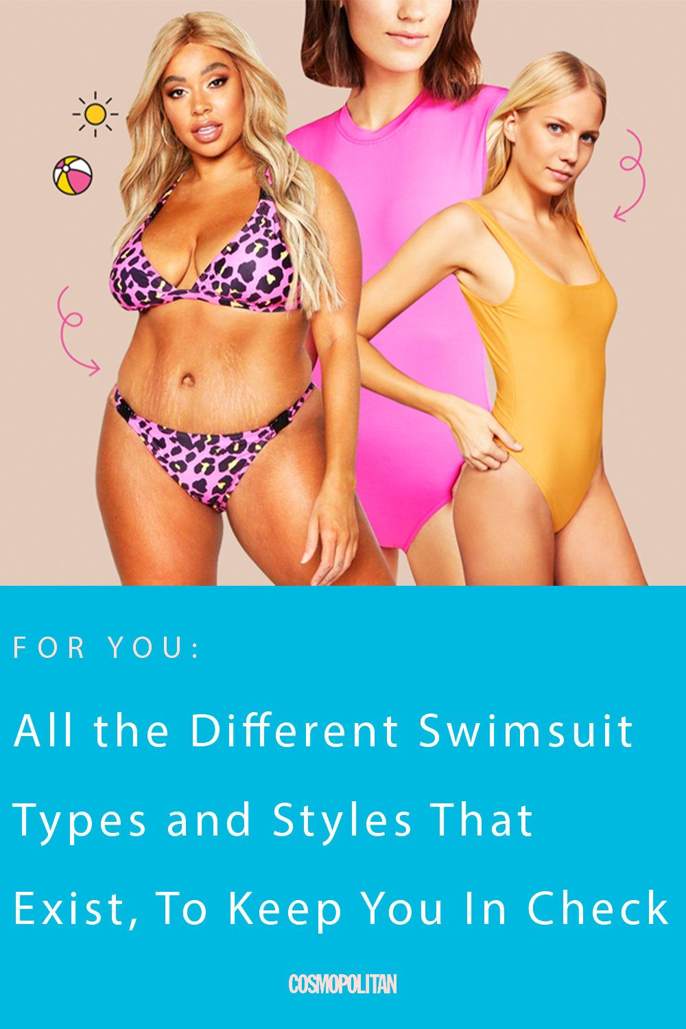 All the Different Swimsuit Types and Styles That Exist, In Case Ya Didn't Know
