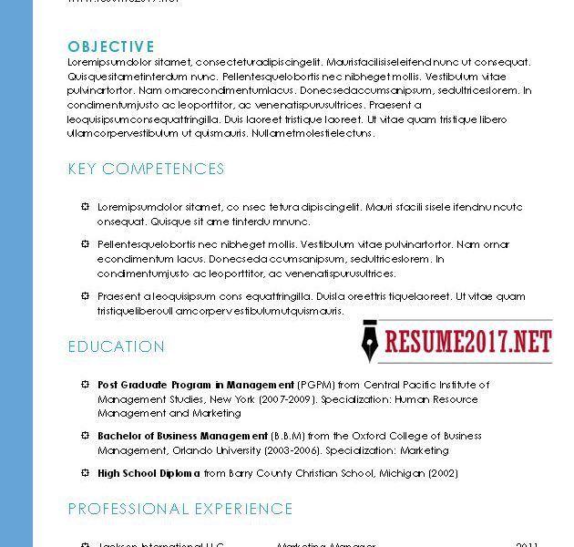 Hybrid Resume Example Nursing Low Experienceresume - hybrid resume template